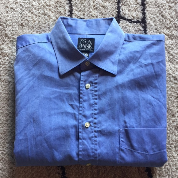 Jos A. Bank Other - JOS A. Bank blue pinpoint dress shirt